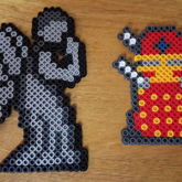 Weeping Angel & Dalek From Doctor Who
