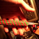 Red And Green Pen Grip