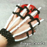 Kandi Skeleton Glove (Fingerlet)