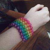 Rainbow Cuff <3