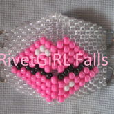 Big Lips D-Ring Surgical Kandi Mask