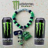 Monster Energy Kandi Bracelet