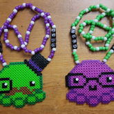 Sir Puss & Nerd Puss Couples Necklaces