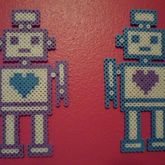 Girl And Boy Robots