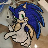 Sonic The Hedgehog (peyote Stitch)