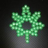 Kandi Weed Leaf