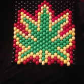 Rasta Pot Leaf