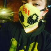 Skrillex Alien Mask
