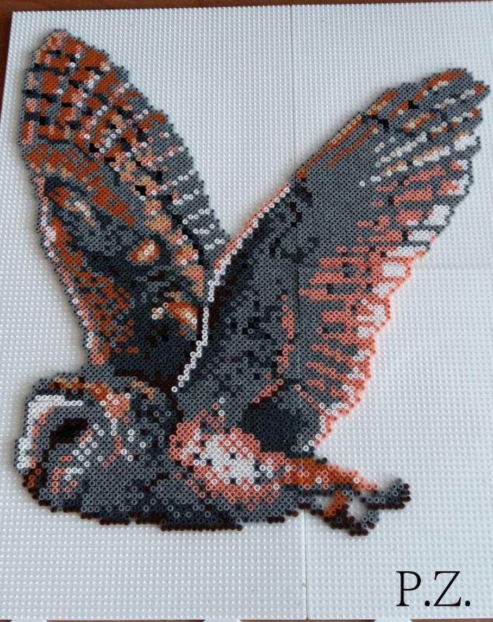 Eule Mini Hama Beads By Piazobel100 Kandi Photos On