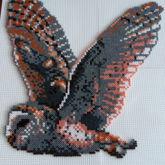 Eule Mini Hama Beads