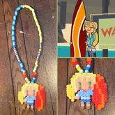 Total Drama Bridgette Necklace