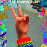 Big Rainbow Cuff