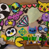 Bunch Of Perlers I Made Today