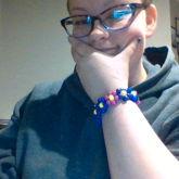 Bisexual Flower Bracelet