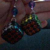 Rubik Earrings