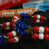 Patriot Double Bead Bracelet