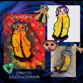 Coraline Doll Perler!!