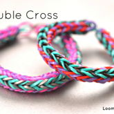 Double Cross Bracelet