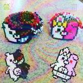 Monokuma And Monomi Kandi Cuffs