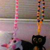 Kandi Necklace Ty Beanie Boo Keychain Things