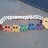 Pacman & Rainbow Ghosts Headband