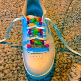 I Decorated My Shoes :))