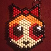 Set Of 4 Power Puff Girl Keychains 4