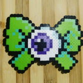 Green Eyeball Bow