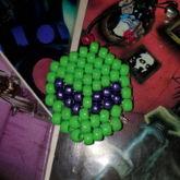 Alien Kandi Keychain!