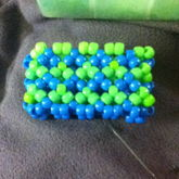Blue And Green Cuff For Family Friend