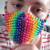 My first kandi mask!