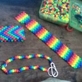 Tie And Bracelet :3