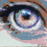 Mini Hama Pearls   Auge