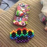 Rainbow Brass Knuckles Peyote