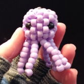Mini 3D Purple Octopus