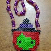 Witch Perler Necklace