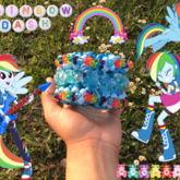Rainbow Dash 3-D Cuff