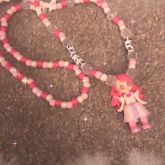 Pink Anime Princess Necklace
