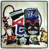 Some Of My Kandi Cuffs