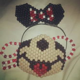 Unofficial Minnie Mouse Mask And Ears