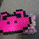 Pink Frog Cuff