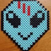 Skrillex Alien Perler
