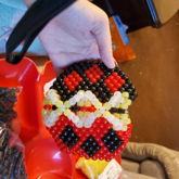 Harley Quinn Laced Mask Glows
