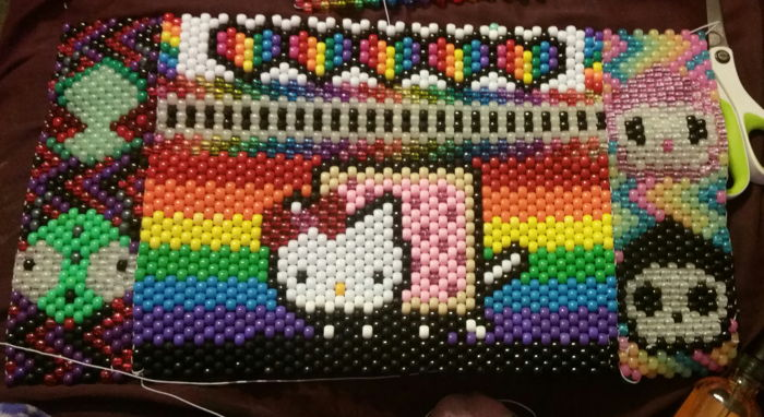 Nyan Hello Kittyinvader Zimgirciao Ciao And Adios Mashup Backpack