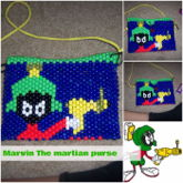 Marvin The Martian Purse