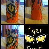 Tiger Eyes Tall Cuff