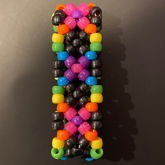 Small Rainbow X-base Cuff