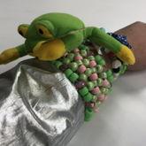 Smoochy The Frog Mcdonald's Toy Cuff