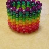 Rainbow Glitter/pearl