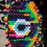 Melting Rainbow Eye Mask